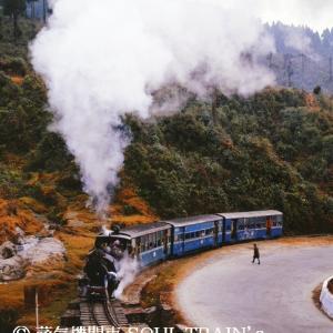 1992 Darjeeling Himalayan Railway 26 Run in the fleeting sunshine