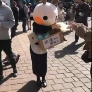 買い占めてんじゃねーわ!  中国人美女が東京でマスクを無料配布 「武漢からの恩返し」