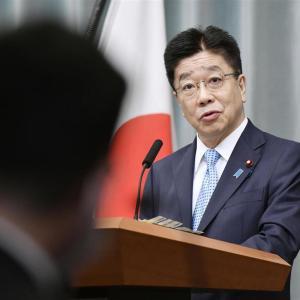 加藤官房長官「領海警備体制を強化」 中国海警法改正成立受け