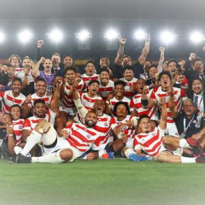 ラグビーワールドカップ ベスト8 世界ランクもアップ!