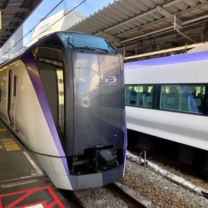 東京~上諏訪 残暑の信州温泉旅行2019-1