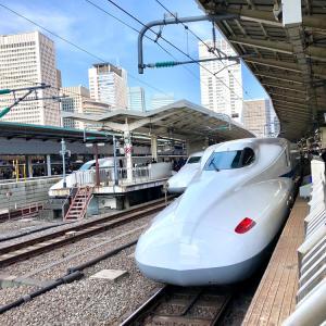 令和最初の文化の日-1 東京〜奈良へ。