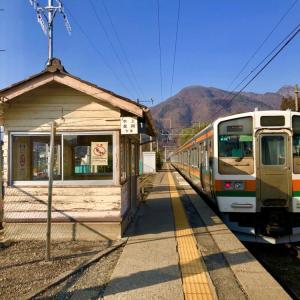 小山駅~新前橋駅~上牧駅へ。/ 青春18きっぷで行く、初春の北関東日帰り旅行-3