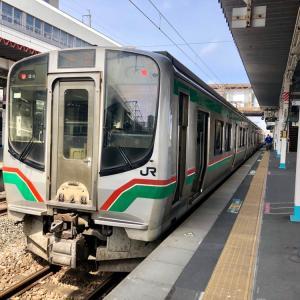 東北本線が運転中止! 予定変更して仙台観光。/ 雪解けの北海道旅行-2