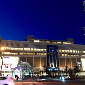 札幌で過ごす夜/ 雪解けの北海道旅行-8