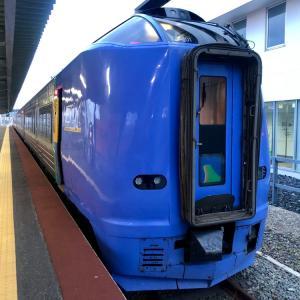 宗谷本線を稚内から旭川へ。/ 雪解けの北海道旅行-18
