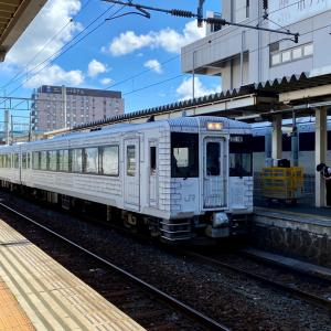 三陸鉄道リアス線で、久慈駅から宮古駅へ。/東北ぐるっと鉄道旅行-12