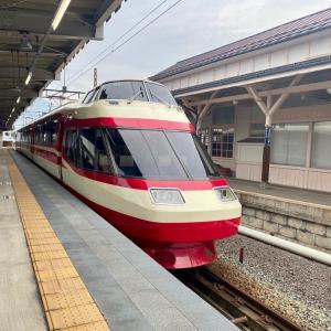 帰りも「特急ゆけむり」で長野駅へ。/ 女子鉄ロリィタが行く、秋の長野温泉旅行-7