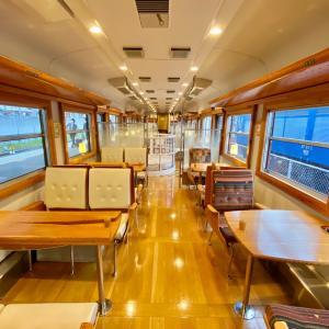 観光列車「ろくもん」で軽井沢へ。/ 女子鉄ロリィタが行く、秋の長野温泉旅行-8