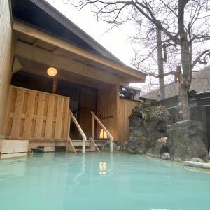 上高地の山奥で迎える朝。/ 春の松本 温泉旅行 2021-6