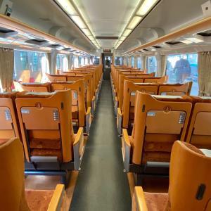 特急「いしづち」で多度津駅から高松駅へ。/『バースデイきっぷ』で行く、四国一周旅行-20