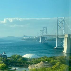 【マリンライナー】で本州に渡り、帰京。/『バースデイきっぷ』で行く、四国一周旅行-21