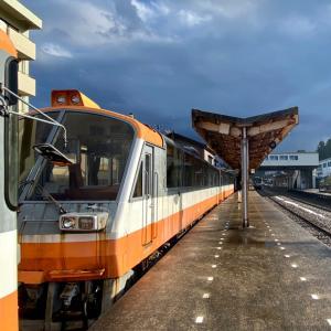 能登半島を走る鉄道「のと鉄道」に往復乗車。/ 北陸-山陰 年末年始珍道中-11