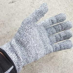 切れない手袋は切れなかったのに、切っちゃった。
