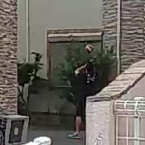 """その後①""""再び""""バレボー選手宅に警察が来たよー。"""""""