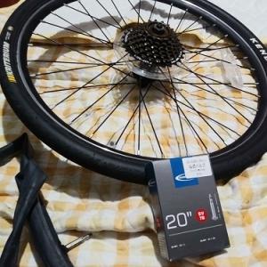 自転車: チューブ交換