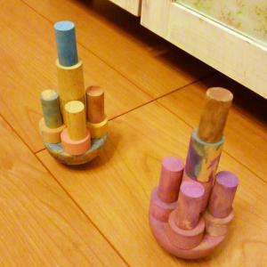 幼稚園の作品展示とアトリエワークショップ