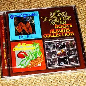 ネットのタワーレコードで注文したLinval Thompson関係のCDを購入、ほか