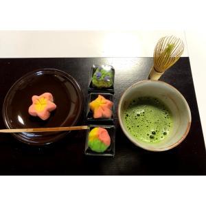 和菓子、ねりきりの作り方を学ぶ
