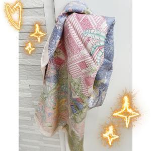 眠ってるエルメスのスカーフでいつもと違うおしゃれ☆1☆