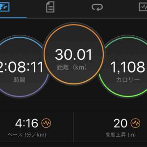 佐渡トキマラソンに向けたポイント練習