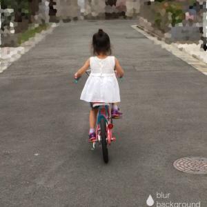 長女の自転車遍歴ー補助輪ラクラク外れたーっ(^^)ー