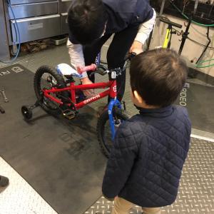 【4歳息子】サッカー教室参加とペダル自転車