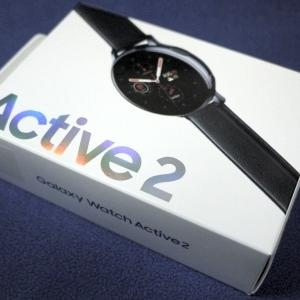2020迎春・・・Galaxy Watch Active2