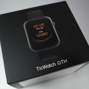 入梅の候・・・Mobvoi TicWatch GTH