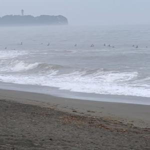 月曜日に波ですか?