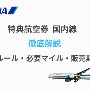 ANA特典航空券(国内線)基礎知識を徹底解説!