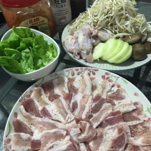 明日は豚肉が届く。ロックダウン中のご飯