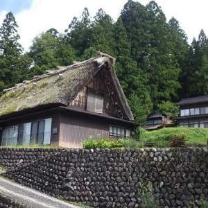 「飛騨白川郷」 白川八幡神社