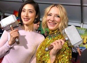 マイティ・ソー:天海祐希&ケイト・ブランシェットが美の競演