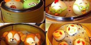香港ディズニーの小籠包