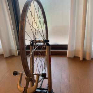 乗らず自転車いじって一日おわた