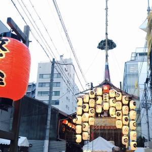 【京都】日、月、星の三光が下界を照らす!放下鉾【祇園祭】