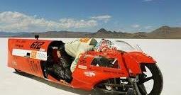 スーパーカブで世界最速更新・瞬間最高速度169・85キロ!