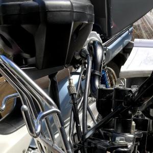 スーパーカブ110JA07プロレストア最終段階 ドライブ・ドリブンスプロケットの選択
