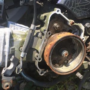スーパーカブ110JA07E サブエンジン 鑑賞