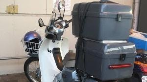 ホンダ純正ビジネスボック取り付け スーパーカブ110JA07プロ カスタム