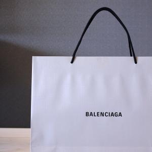 軽井沢のアウトレットで買ったバレンシアガのバッグ。