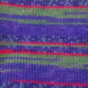 「光の三原色」カラーの毛糸