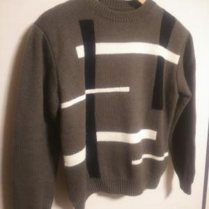 インターシャのセーター