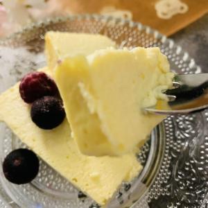 糖質0.9g!SNSで話題のスイーツ「チーズテリーヌ」を低糖質で作ってみた♪