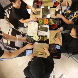 料理教室報告 1004編 寿司講座
