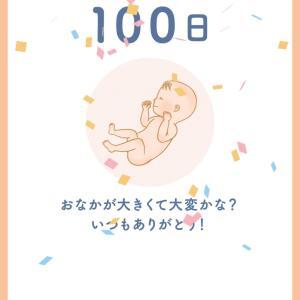 出産まであと100日