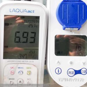 PH・TDS・THの詳細な水質を測定してみた。