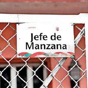地区の代表者 Jefe/jefa de manzana