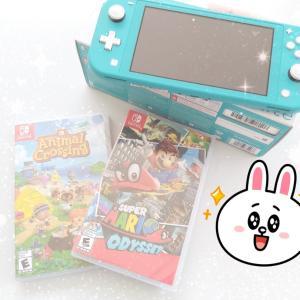 任天堂Switch買ってもらった!